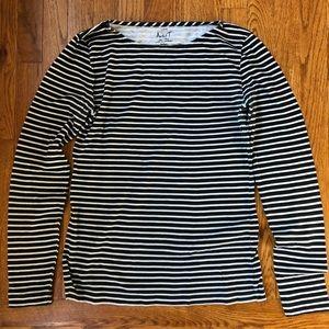 J.Crew Factory Striped Artist T-Shirt- Long Sleeve